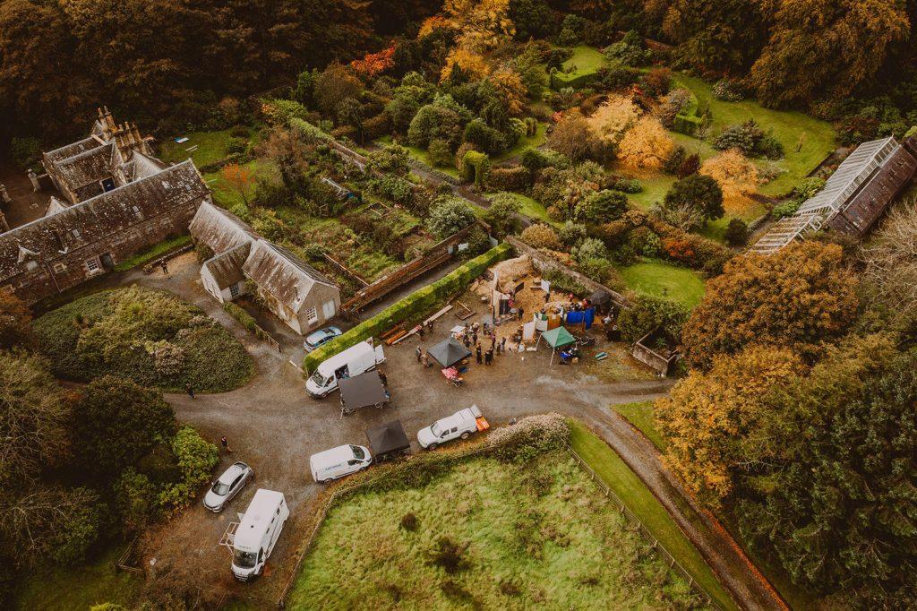 film production at dunskey estate