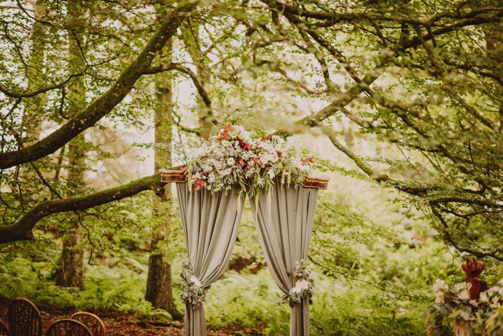 outdoor wedding venue in scotland